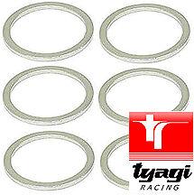 Aluminium-Sump-Sealing-Washer-Plain-Banjo-Bolt-Metric-Drain-Fuel-Gasket-10pcs