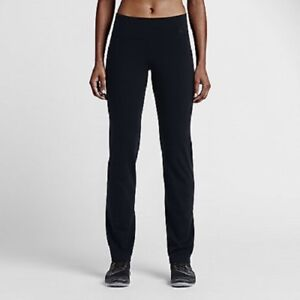 e4e1966bd95ce NIKE DRI-FIT WOMENS POWER LEGENDARY SKINNY PANTS BLACK SZ XS #803072 ...