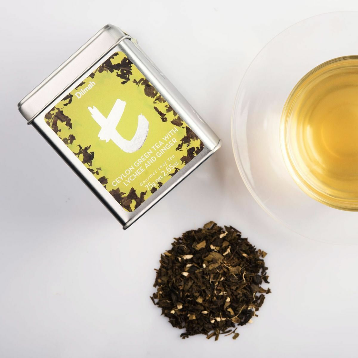 S l1600g dilmah ceylon tea loose leaf green tea with ginger lychee tea izmirmasajfo Images