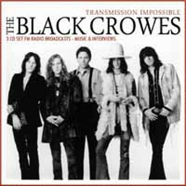Black Crowes, The - Transmission Impossible (3cd Box) NEW 3 x CD