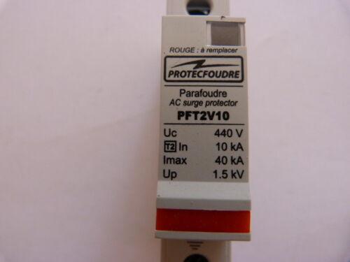 Disjonteur parafoudre Protecfoudre PFT2V10 400v 40 kA