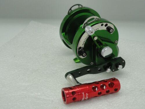 UJ T052A T-BAR handle knob direct fit Avet SX MXL JX LX G2 MC Raptor reel RED