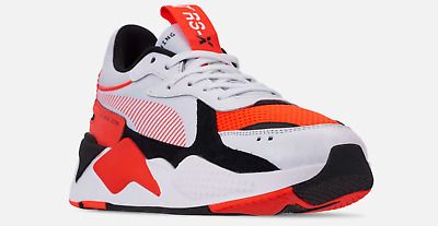 puma rsx white orange,Free Shipping