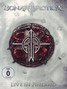 SONATA-ARCTICA-034-LIVE-IN-FINLAND-034-2-DVD-2-CD-NEU