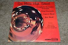 San Mateo High School~Symphonic Percussion Ensemble~Henry A. Use ~FAST SHIPPING