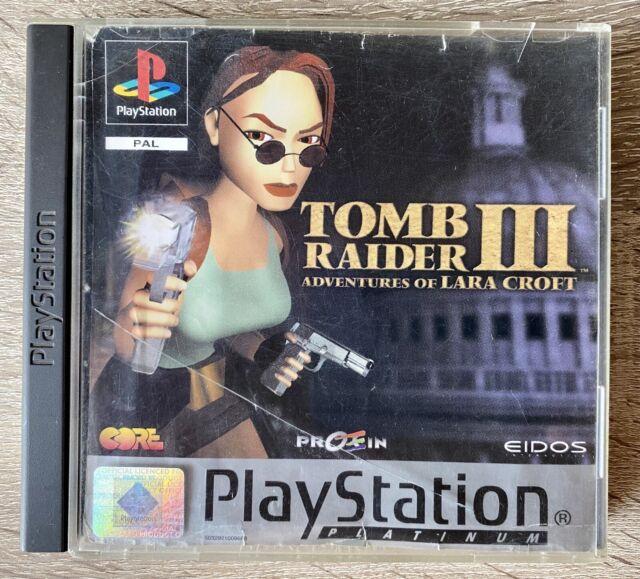 Tomb Raider III PlayStation 1 PS1 PSX Completo PAL España