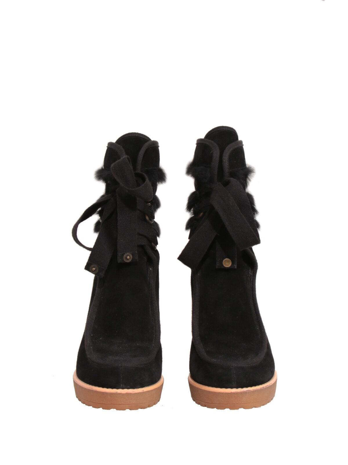 NEW  MARC Booties JACOBS Suede Booties MARC (SIZE 38.5) 54f29a
