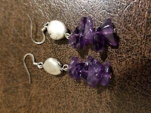Genuine-AMETHYST-Stone-Earrings-2-034-hand-made