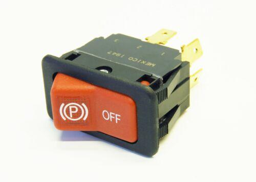 Illuminated Genuine Red New OEM Bobcat 6690948 Park Switch Brake Lock