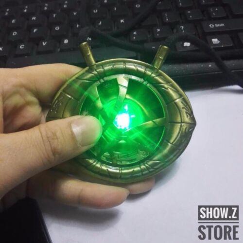 CATTOYS 1//1 Dr Doctor Strange Eye of Agamotto Amulet Pendant Necklace LED Light