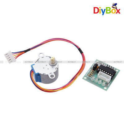 1//2//5//10PCS 5V Stepper Motor with Drive Test Module Board ULN2003 5 Line 4 Phase