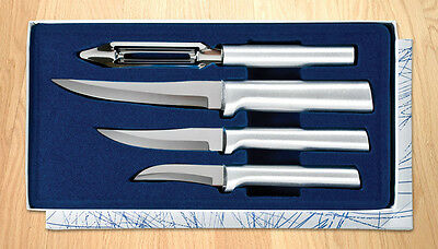 S05 Kitchen Meal Prep Knife Set by Rada 4pc set L/R handed cutlery USA + Save$$