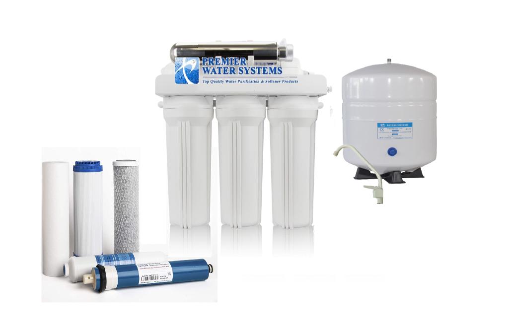 Osmose Inverse Eau Potable Système de filtration avec filtre UV 100 Gotham Police Department 6 Stage Osmose Inverse