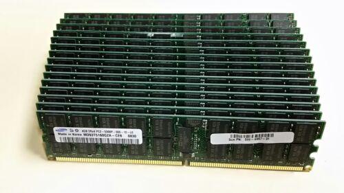 ECC FOR SERVER RAM @@@ 1 x 4GB SAMSUNG M393T5160QZA-CE6 2Rx4 PC2-5300P DDR2