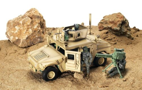 HOT USA SALE Elite Forces Military High level Detail Humve 1:18 Scale Hummer Toy