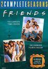 Friends The Complete Third Fourth Seasons 2 PC 0883929215591 DVD Region 1
