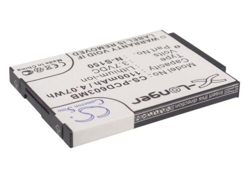 SCD-603H cellule qualité neuf SCD-603 00 Premium Batterie pour PHILIPS SCD603