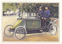 AK: 500 Jahre Post - Motorpostwagen Berlin, um 1900 (2)