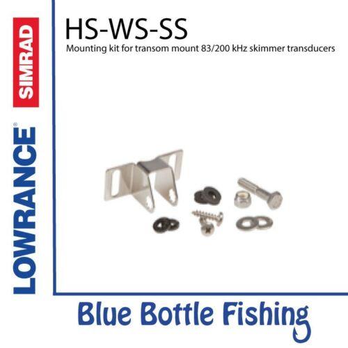 Mounting kit for transom mount 83//200 kHz skimmer transducers HS-WS-SS Mtg Kit