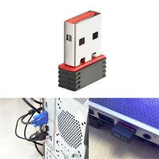 1X Mini USB 2.0 802.11n 150Mbps WIFI Network Adapter Window/&Linux PC Laptop GFUS