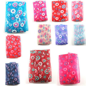 FLORAL-ORGANZA-RIBBON-25-38mm-GIFT-WRAPPING-CRAFTS-PARTY-WEDDING-HAIR-BOWS-CAKE