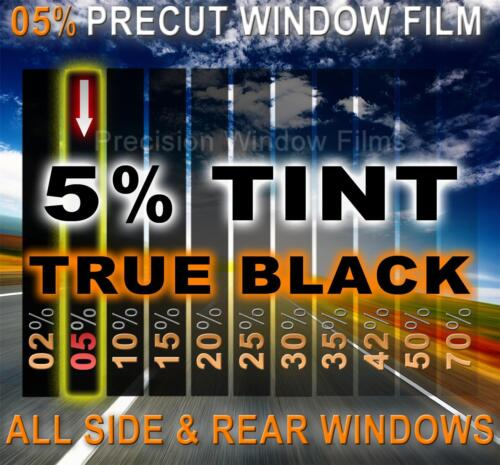 PreCut Window Film 5/% Limo Tint for Chevy Silverado,GMC Sierra EXT Cab 2007-2014