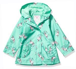 Carter/'s Girls Lilac Unicorn Fleece Lined Jacket Size 2T 3T 4T 4 5//6 6X