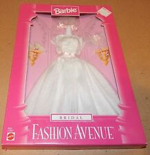 Barbie Fashion Avenue Collection Real Clothes Bridal Mattel 17621 NIB 1997 120Z