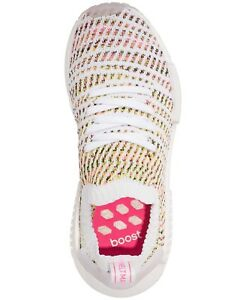 867955915 ADIDAS BOOST NMD R1 PRIMEKNIT WOMEN S 9.5 CLOUD WHITE SOLAR YELLOW ...