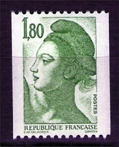 TIMBRE-N-2378-NEUF-XX-LUXE-LIBERTE-ROULETTE