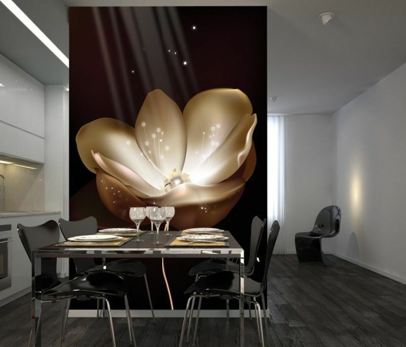 3D  Luminous Flowers 7 Wall Paper Murals Wall Print Wall Wallpaper Mural AU Kyra