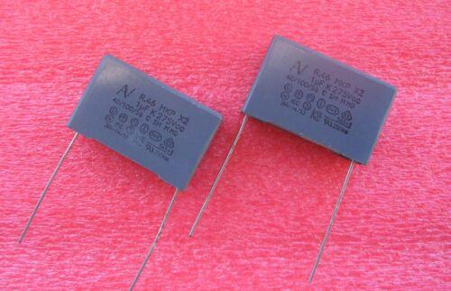 2 PIECES 1uf 275Vac X2 SUPPRESSION CAPACITORS KEMET ARCOTRONICS