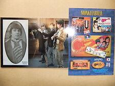 THE MONKEES CORNERSTONE ALBUM BINDER 0 CARD MIKE NESMITH TORK DOLENZ DAVY JONES