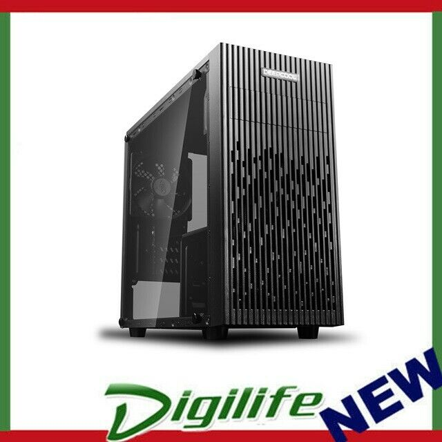 Deepcool Matrexx 30 Tempered Glass Mini-Tower Micro-ATX Case