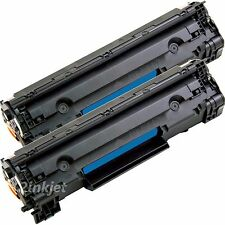 2 Pack CB435A 35A Compatible Toner Cartridge For Laserjet P1005 P1006