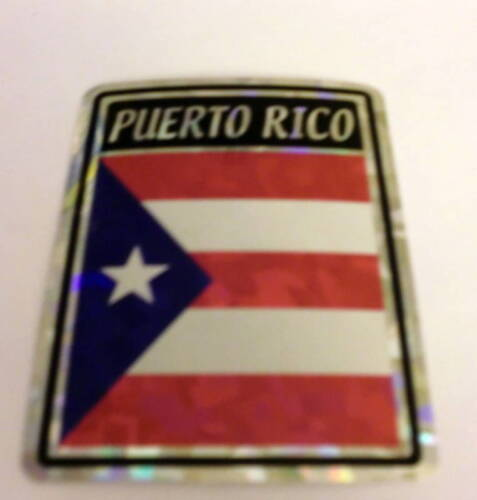 "/""3x4/"" Puerto Rico Stickers Puerto Rico Decal"