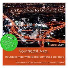 CARMIX-GPS | Southeast Asia Map for Garmin | microSD-SD Card MC2017Q1SEA