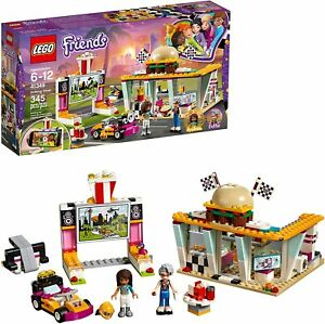 LEGO-Friends-Rare-Drifting-Diner-41349-New-amp-Sealed