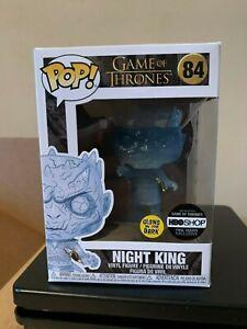 Funko Pop! Game of Thrones Crystal Night King w//Dagger n°84 BOITE ABIMEE