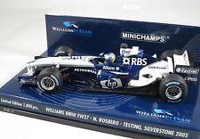 WILLIAMS BMW FW27 Nico ROSBERG F1 2005 testing APRIL SILVERSTONE MINICHAMPS 1:43