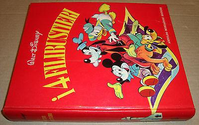 LIBRO WALT DISNEY I 4 FILIBUSTIERI 1^ EDIZIONE SETTEMBRE 1961 MONDADORI EDITORE