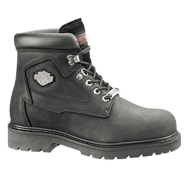 ff48535b876 Harley-Davidson Mens BOOTS Badlands Size 12 Black 6 Inch D91005