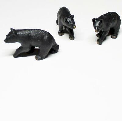 Doll House Shoppe Toy Gorilla Set//3 11537 Game Pcs Micro-mini Miniature