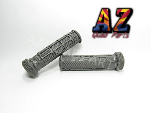 Tag ATV Handlebar Grips Grey Can Am DS450 DS 650 DS 450 650 Renegade Outlander