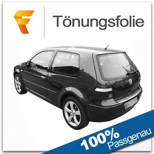 Passgenaue Tönungsfolie VW Golf 4 / 3 Türer