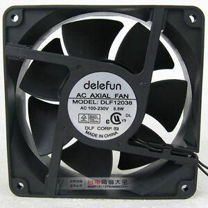 Image Is Loading Delefun Dlf12038 Cabinet Cooling Fan Ac 100v 230v
