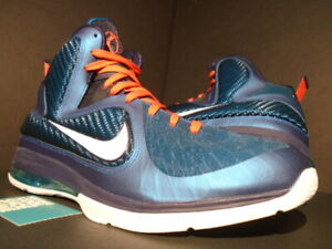 save off 7ec29 9d15c Details about NIKE LEBRON IX 9 SWINGMAN GREEN ABYSS WHITE OBSIDIAN BLUE RED  MVP 469764-300 15