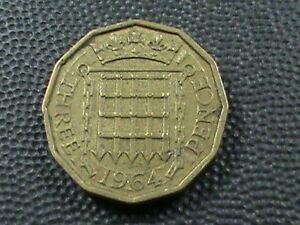 Grossbritannien-3-Pence-1964-Maximum-in-USA