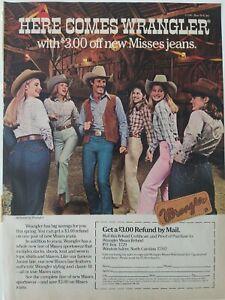1981-Wrangler-men-039-s-women-039-s-misses-blue-jeans-cowboy-hats-vintage-clothing-ad