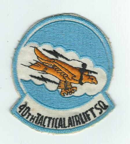 1970's80's 40th TACTICAL AIRLIFT SQUADRON #1 patch